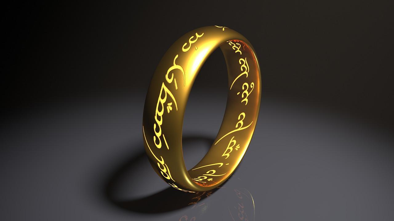 טבעת חרוטה