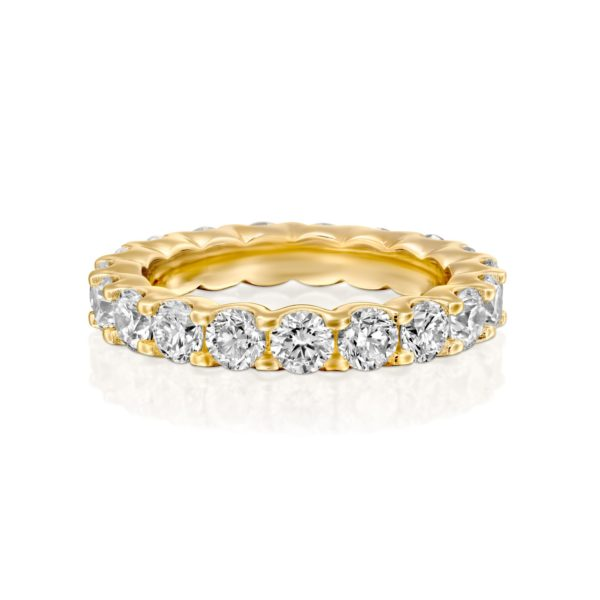 טבעת יהלומים אינטרניטי 2.5 קראט - פרונט