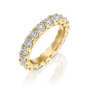 טבעת יהלומים אינטרניטי 2.5 קראט
