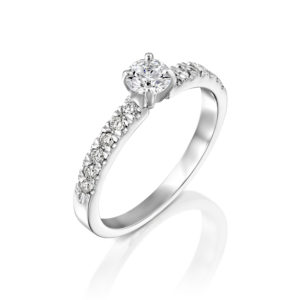 טבעת אירוסין כריס 0.76 קראט - ראשי