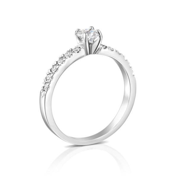 טבעת אירוסין כריס 0.76 קראט - 1