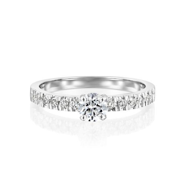טבעת אירוסין כריס 0.76 קראט - 2