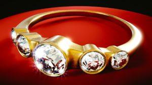 יהלום על טבעת